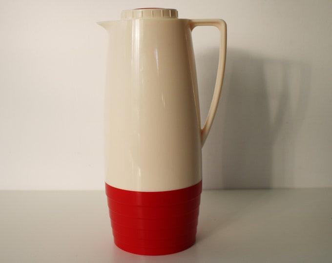 Retro Isovac thermos jug / flask - mid century tableware