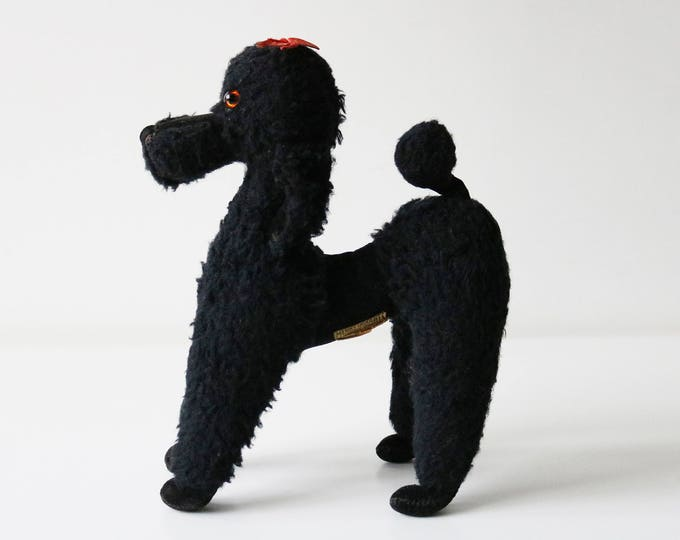 Poodle Merrythought stuffed toy collectible