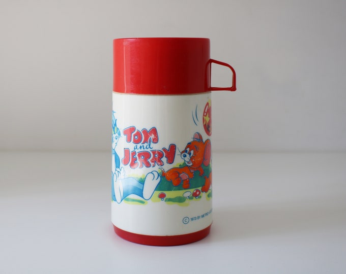 1973 Tom and Jerry flask by Aladdin