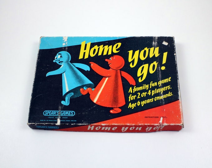 1960s board game made by Spear's Games - Home you go!