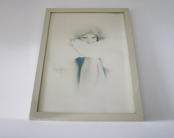 1970s original Sarah Moon framed print Elaine 1978