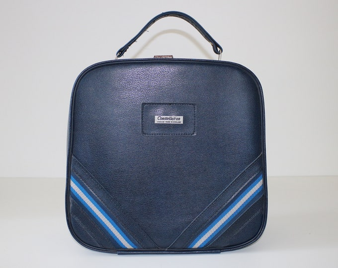 1960s / 70s vanity case / cabin bag / overnight weekend holdall by Constellation
