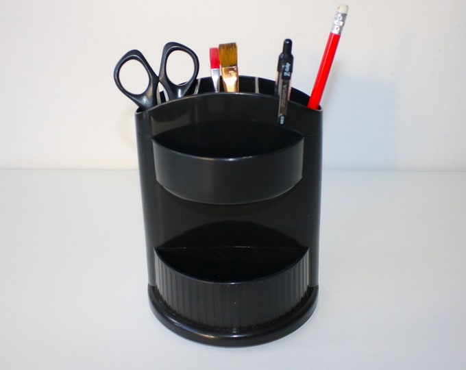 Early 90s rotating desk tidy by Oxford Design and Mechanics Inc. possibly prototype