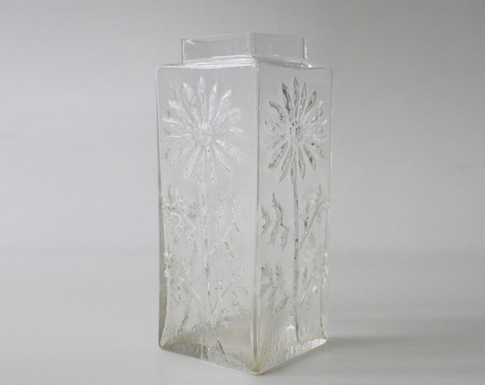 70s Daisy vase by Frank Thrower for Dartington