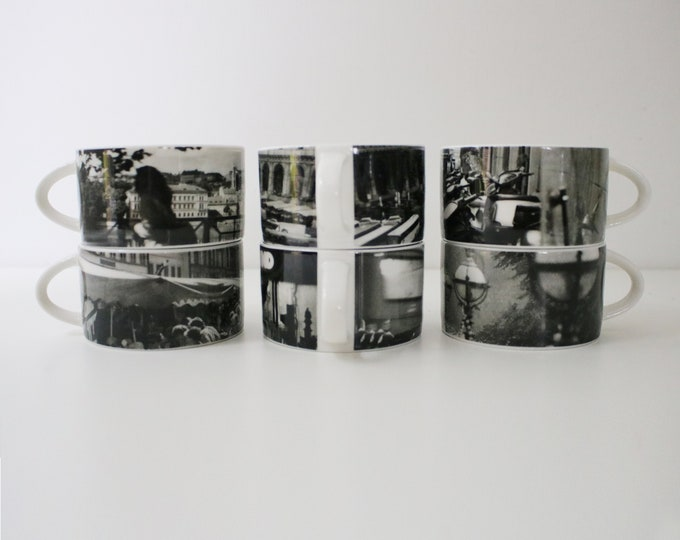 Royal Doulton photo scene china mugs as used by British Airways / Concorde