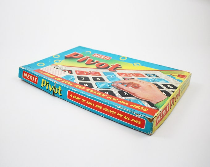 1960s Pivot board game by Merit J&L Randall - collectors item