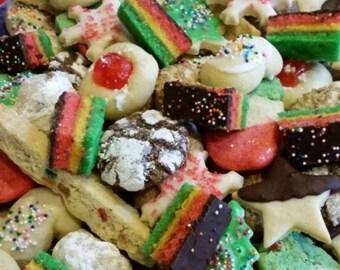 Christmas Cookie Box Etsy