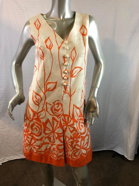 Vintage 1970's Alex Colman California Shift Dress