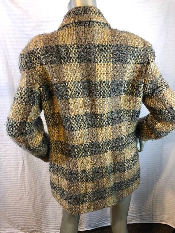 Vintage Carlisle Women Multi Color Plaids Jacket/… - image 5