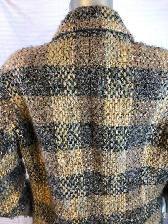 Vintage Carlisle Women Multi Color Plaids Jacket/… - image 6