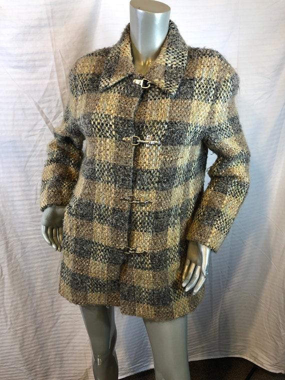 Vintage Carlisle Women Multi Color Plaids Jacket/… - image 1