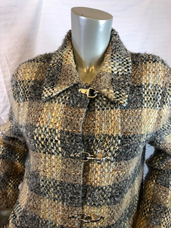 Vintage Carlisle Women Multi Color Plaids Jacket/… - image 2