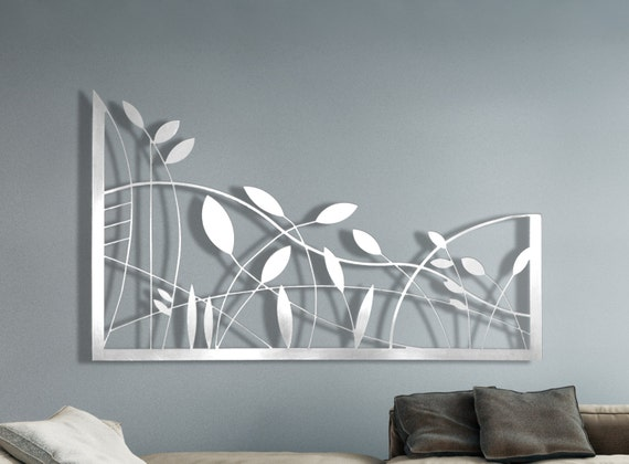 Laser Cut Metal Decorative Wall Art Panel Sculpture for Home | Etsy