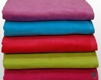 "100% Cotton Beach Towel, Holiday Towel 400gsm Plain Pattern - Size 70cm x 140cm (27"" x 55"")"