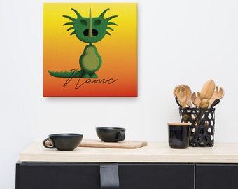 Canvas - Dino