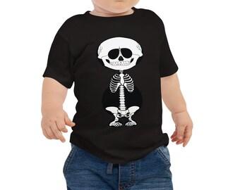 Baby Jersey Short Sleeve Tee - Skeleton