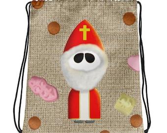 Drawstring bag - Sinterklaas