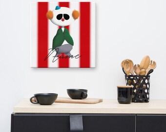 Canvas - Clown