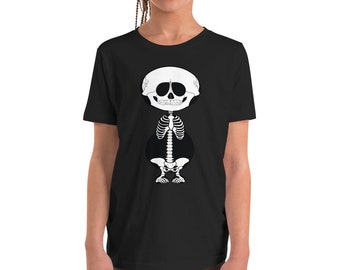 Youth Short Sleeve T-Shirt - Skeleton