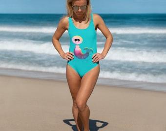 One-Piece Swimsuit - Mermaid