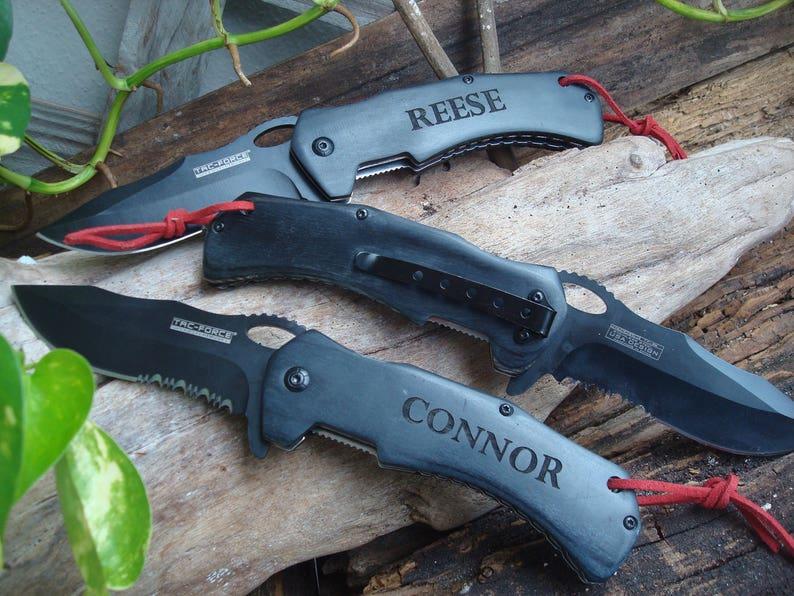 groomsman gifts 936 hunters gift personalized pocket knife STAINLESS STEEL Pocket knife Personalized knife folding blade knife