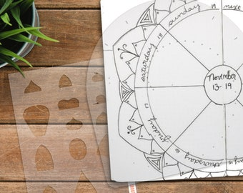 Mandala Making Set create and divide concentric circles then add consistent mandala elements. Get them over here!