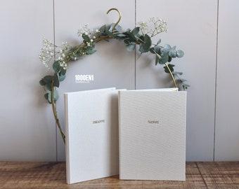Wedding vow book A5