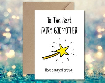 Good luck or any Occasion 3D Pop Up Magic Fairy Card For Best wishes Birthday