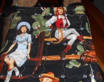 Cloth Bag, Cloth Crossbody bag, Hipster Crossbody bag, Southwestern Crossbody bag,Cowgirl Crossbody Bag