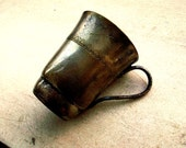 brass coffee  cup antique vintage