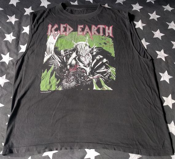 Iced earth european tour 1991 blue grape vintage power metal  8a2e94f131