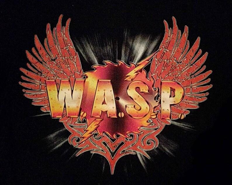 Wasp  the Crimson idol anniversary tour heavy metal t-shirt iron maiden judas priest kiss twisted sister motley crue ratt king diamond acdc
