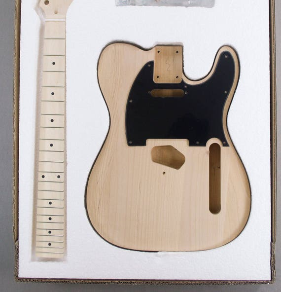 Diy Gold Tl Style Electric Guitar Kit Etsy