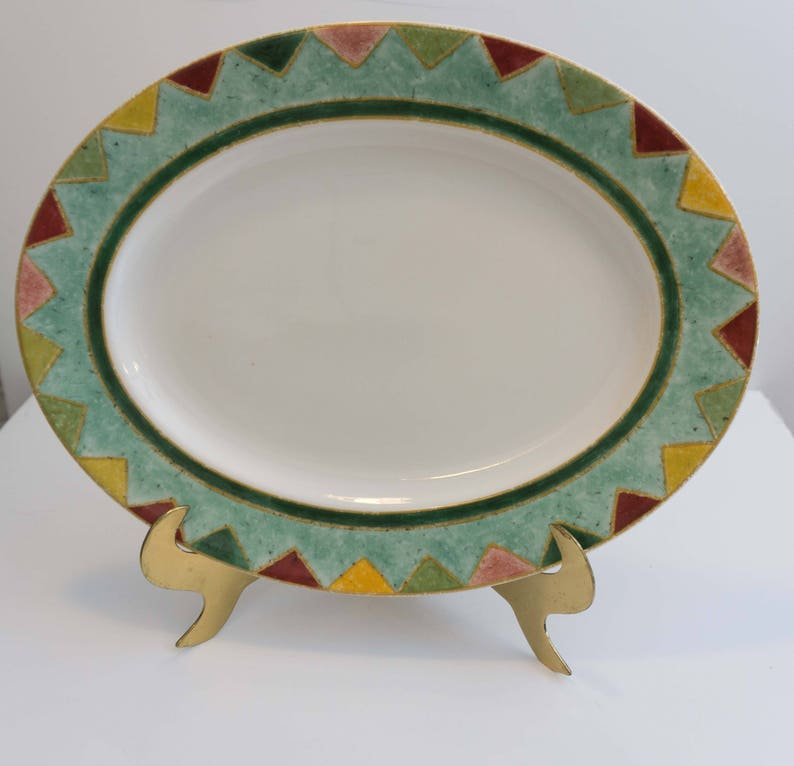 Japora by Royal Doulton Discontinued Southwestern Style 13 Serving Platter