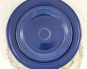 Vintage Lot of Cobalt Blue Original Fiestaware Dinner Luncheon Bread Plates