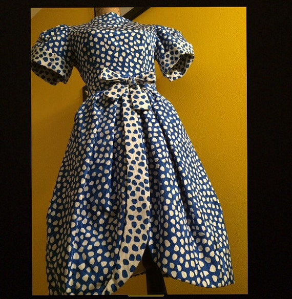 SOLD! Custom Vintage Scaasi Boutique Dress by Arn… - image 1