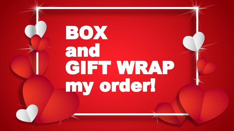Add a box gift wrap and personal message to your order for image 0