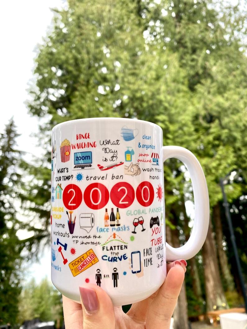 Covid Mug Pandemic Coffee Mug 2020 Coffee Mug Kota Couture.