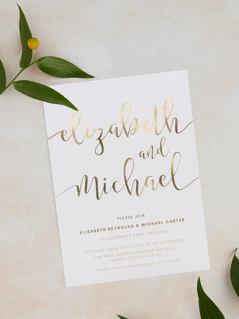 Folie uitnodigingen