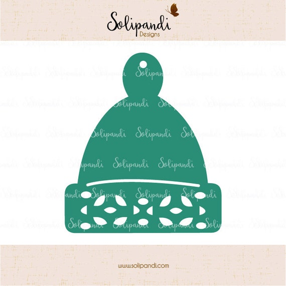 Christmas Hat Svg Cut Files Svg And Dxf Cut Files For Etsy
