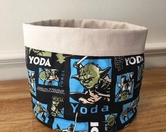 Star Wars storage bucket