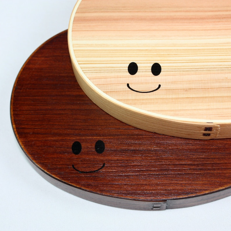 Smiley Red Lacquered Personalized Handmade Japanese Bento Etsy