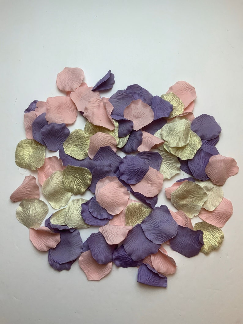Wedding Rose Petals/Rose Gold Petals/Bridal Petals/Rose Gold image 0