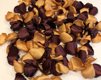 Rose Petals/Gold Rose Petals/Burgundy Rose Petals/Burgundy Wedding Decor/Country Wedding/Maroon Rose Petals/Gold Wedding/Autumn Wedding