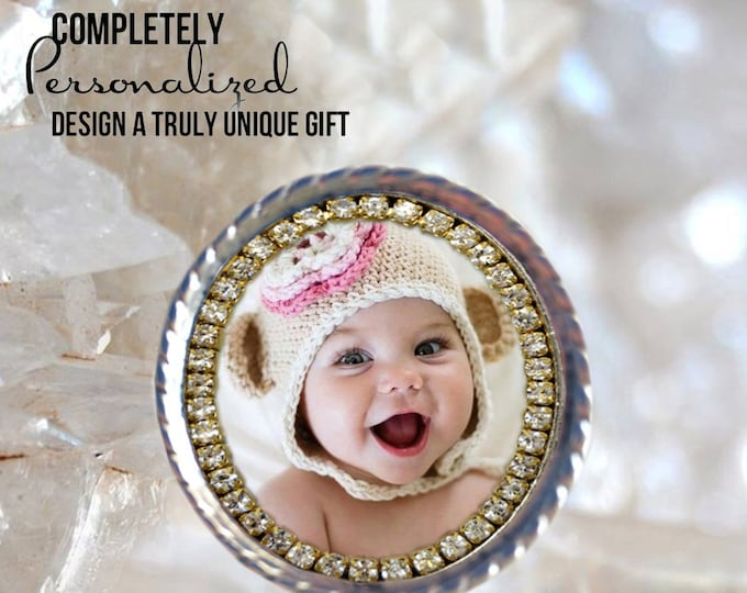 Personalized Brooch - Own Photo - Custom Picture Brooch - Photo Jewelry - Photo Brooch - Photo Pendant