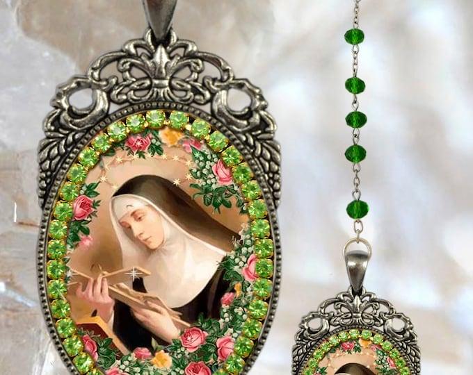 Rosary of Saint Rita of Cascia  - Handmade