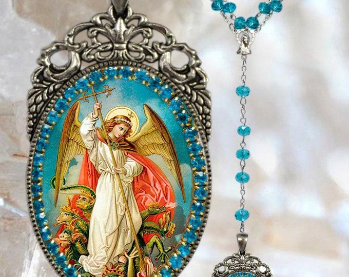 Rosary of St. Michael Archangel -  Handmade