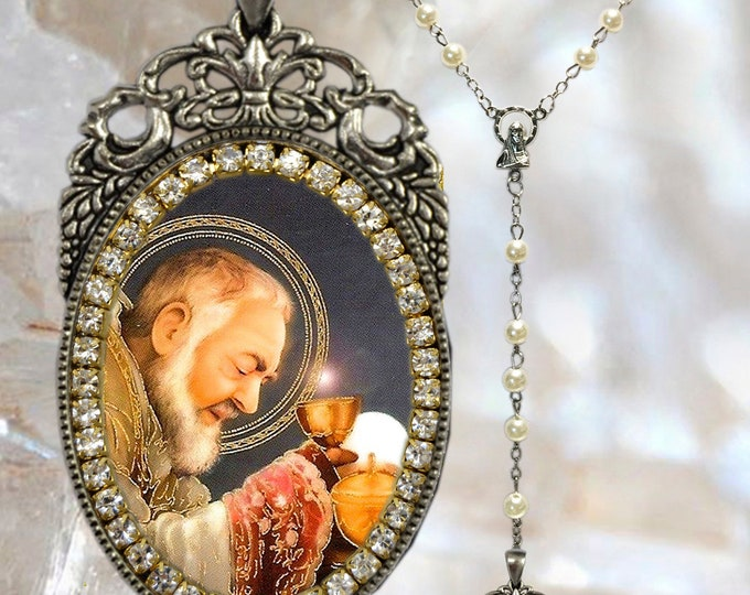Padre Pio of Pietrelcina Rosary - Patron Saint of Civil Defense Volunteers; Adolescents; Streets Relief & January Blues