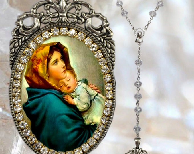 Madonna of the Streets Rosary - Madonnina