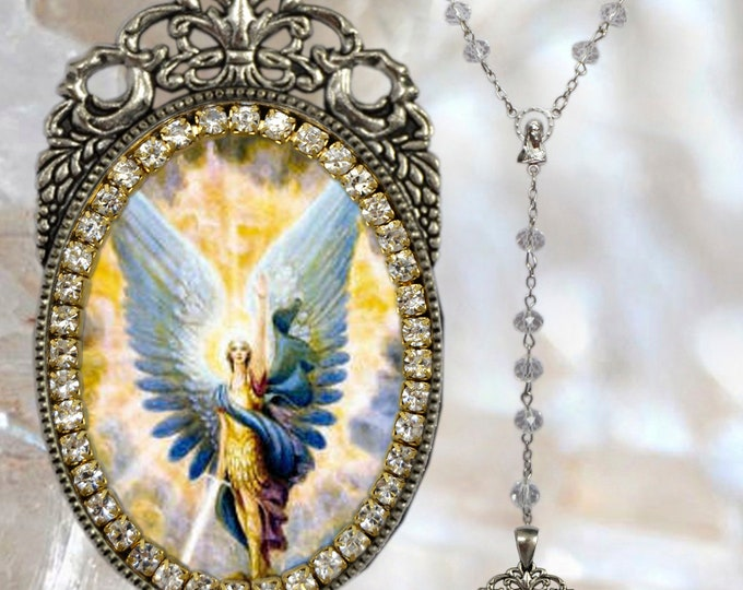 Michael Archangel Rosary - Patron Saint of Soldiers; Grocers; Mariners; Doctors; Paratroopers; Police & Sickness